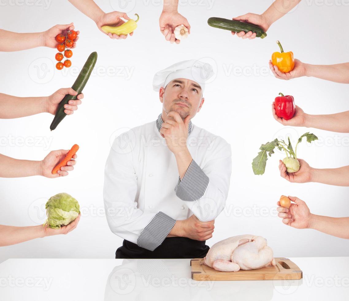 Chef idea photo