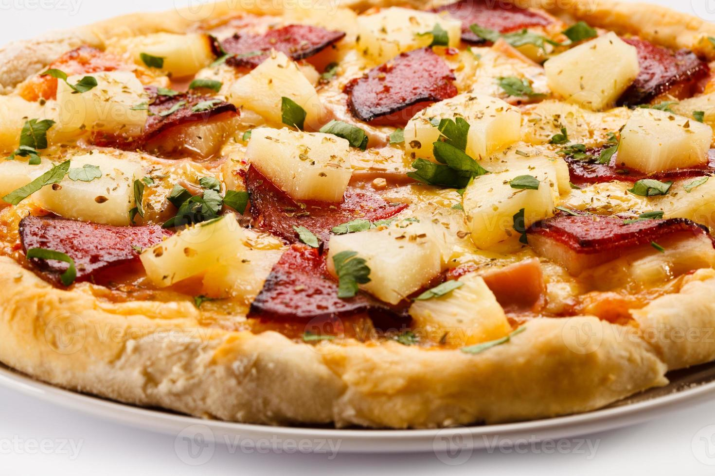 pizza de hawaii foto