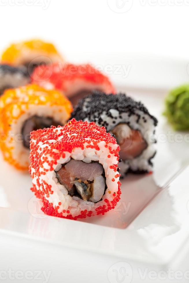 cozinha japonesa - sushi foto