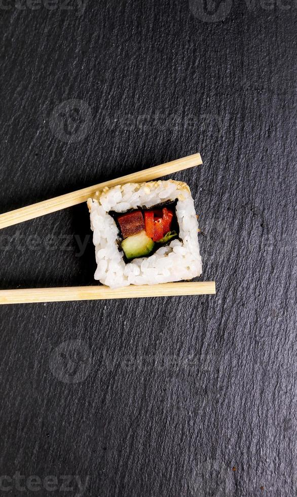 Delicious sushi photo