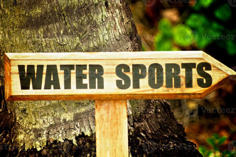 Deportes acuáticos foto