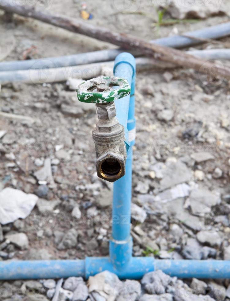válvula de agua. foto