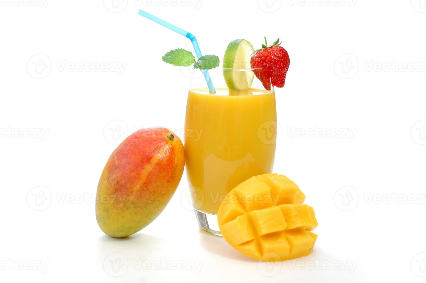 jugo de mango foto