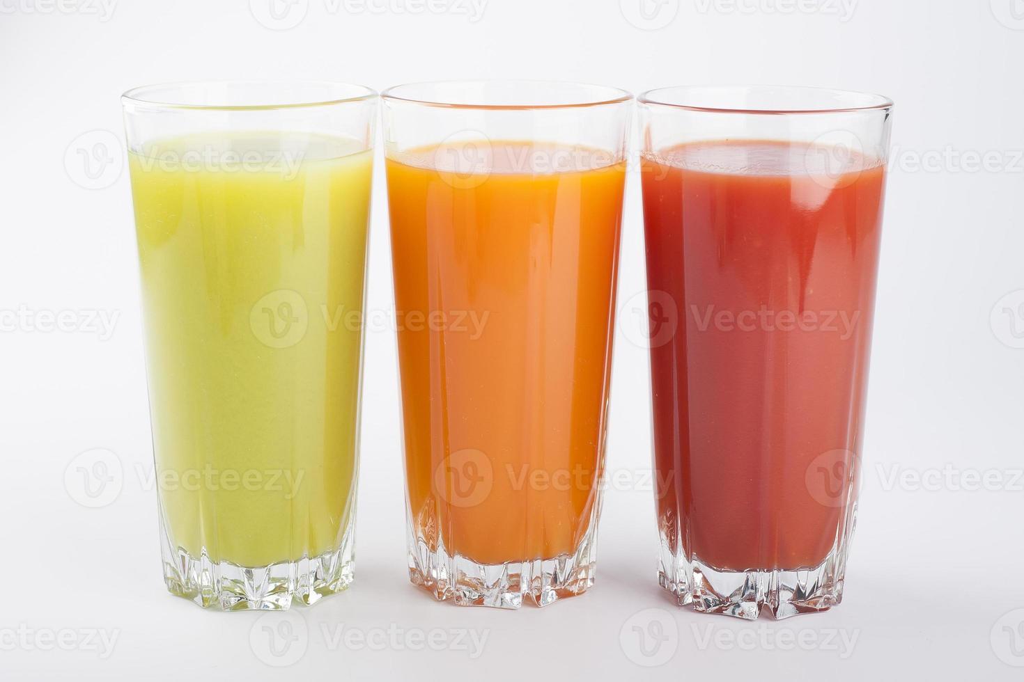 jugos de colores foto