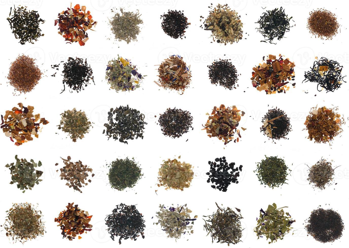 diferentes tés foto