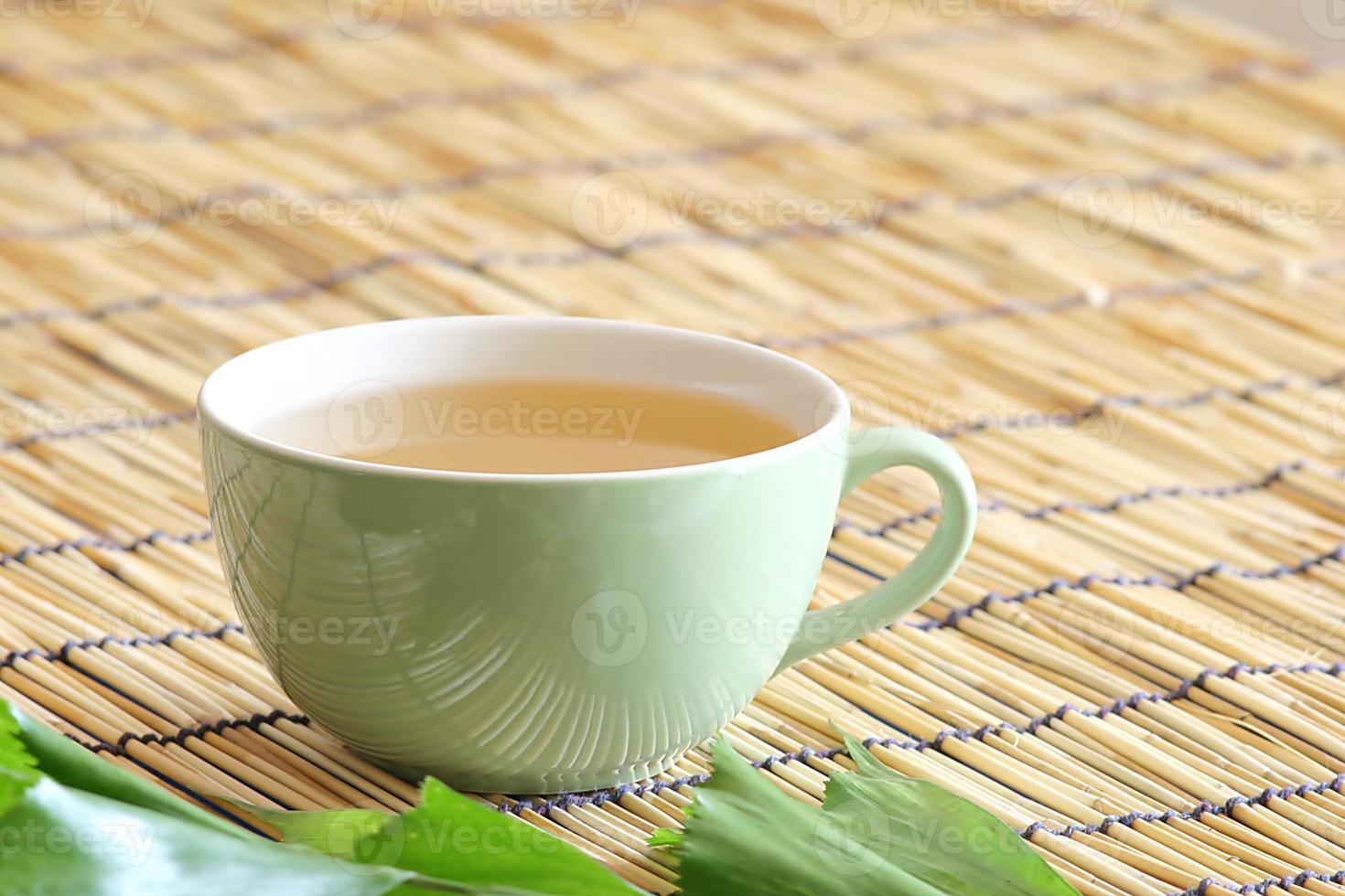 mezcla de té blanco foto