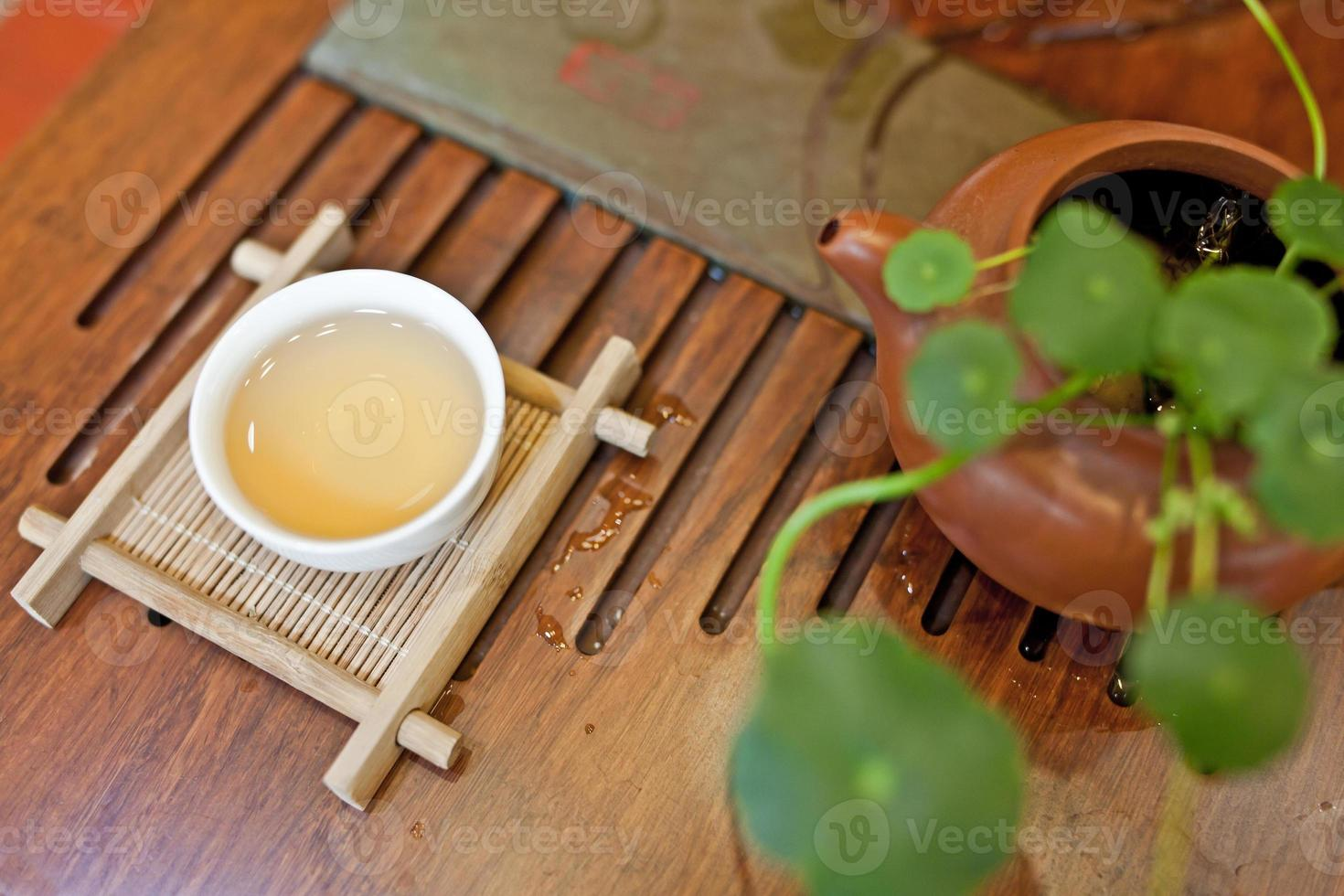 The Chinese tea ceremony photo