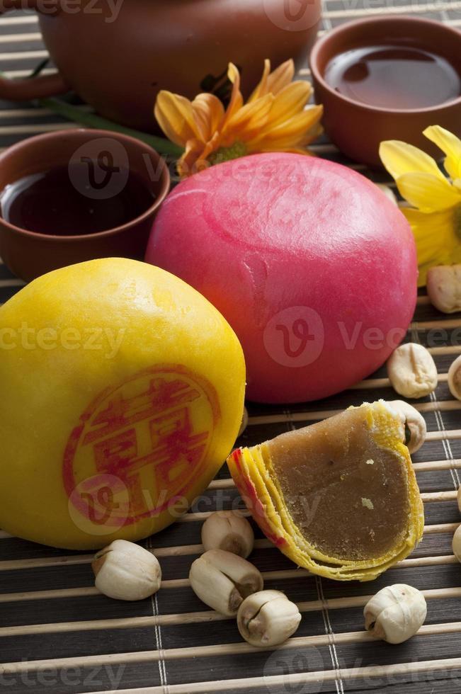 pasteles chinos foto