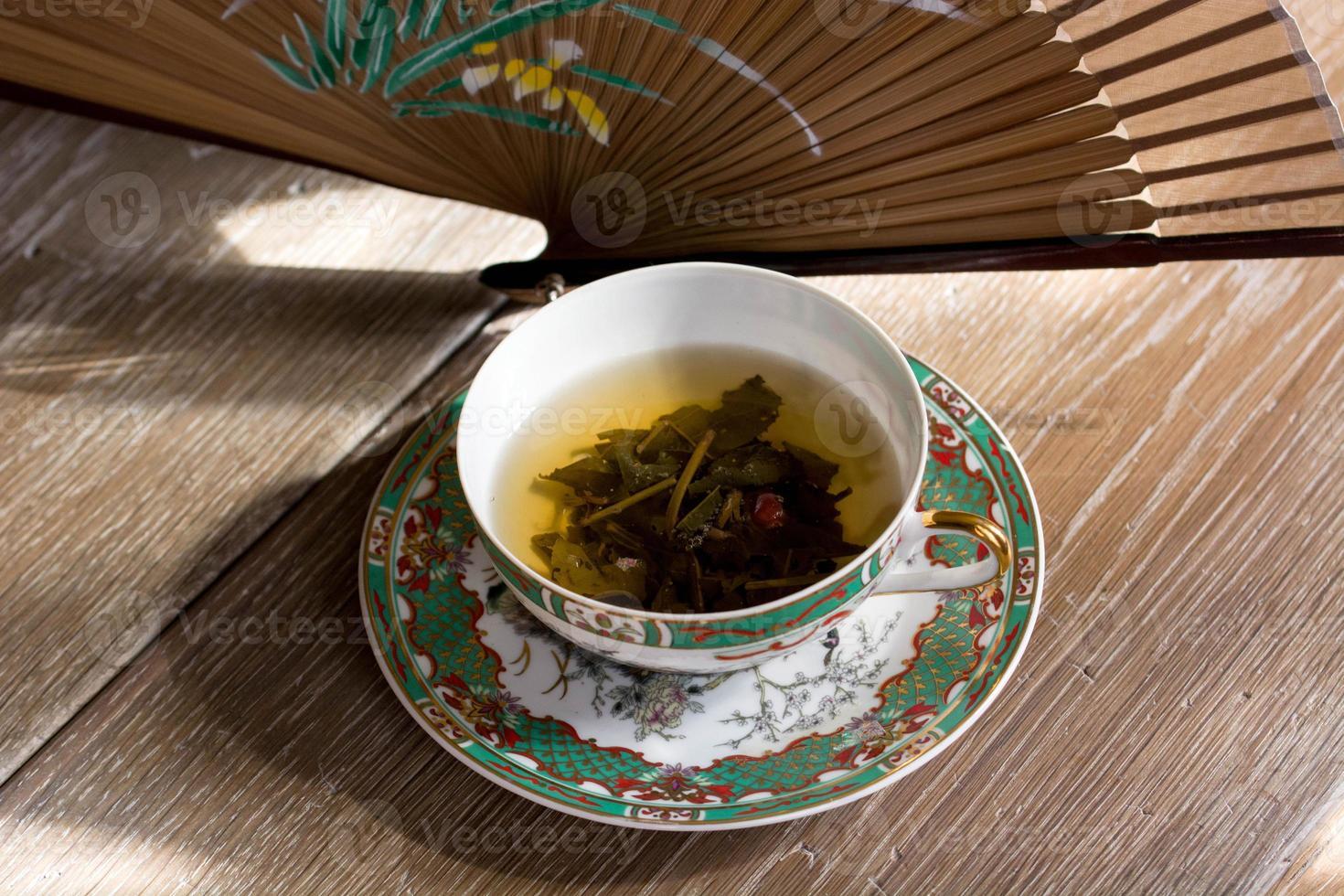 Green tea photo