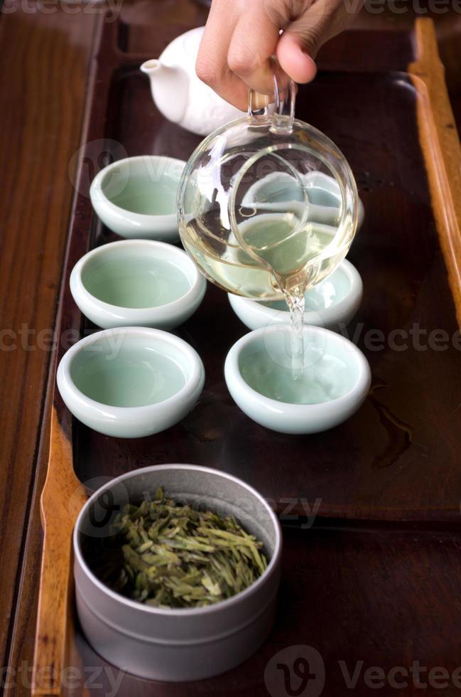 Ceremonia del té foto
