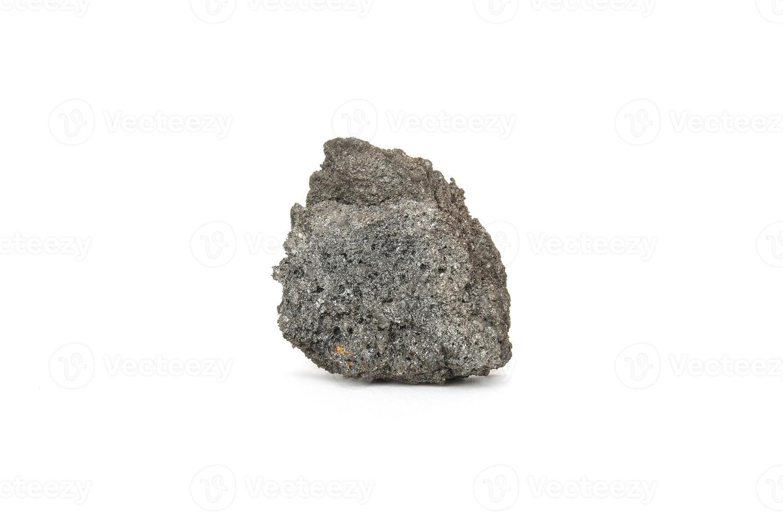 Coque de carbón sobre fondo blanco. foto