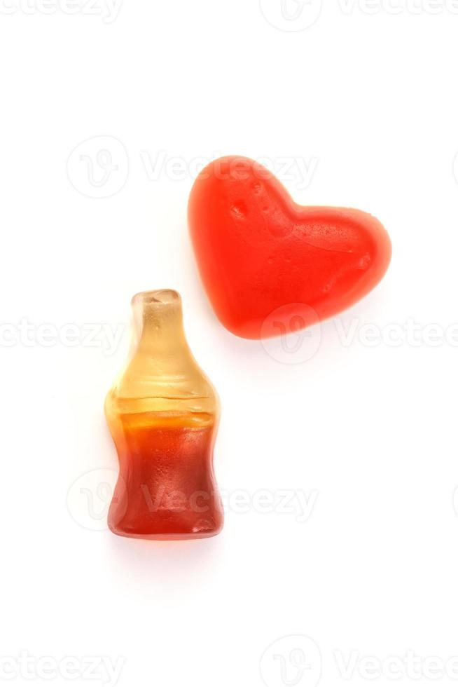 Cola bottles candy photo