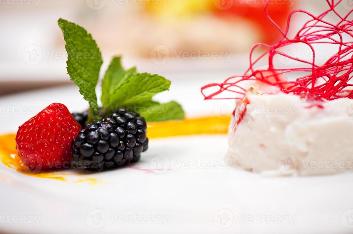soufflé de yogur foto