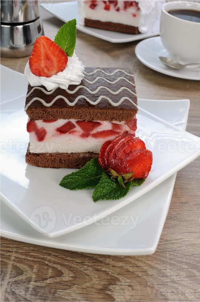 Strawberry souffle photo