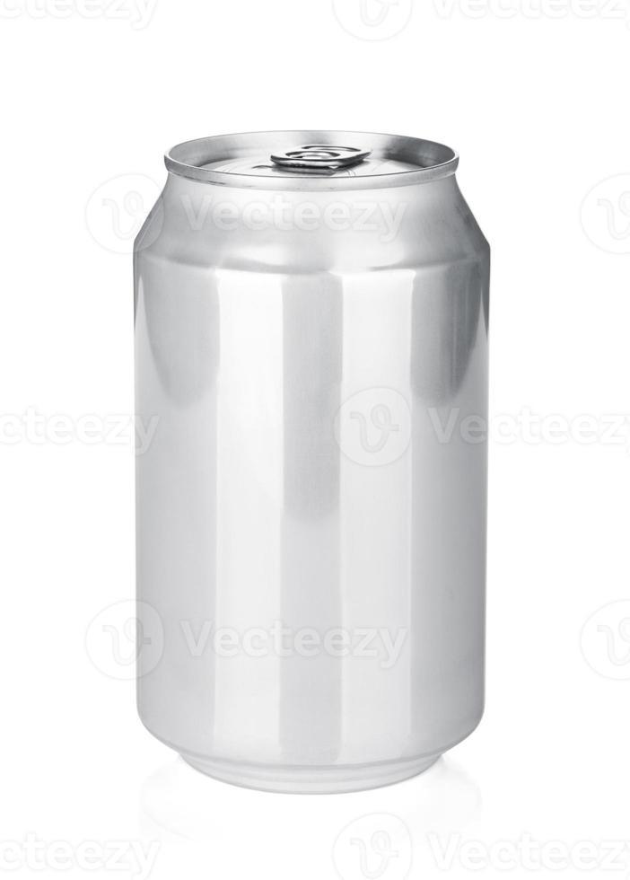 lata de aluminio foto