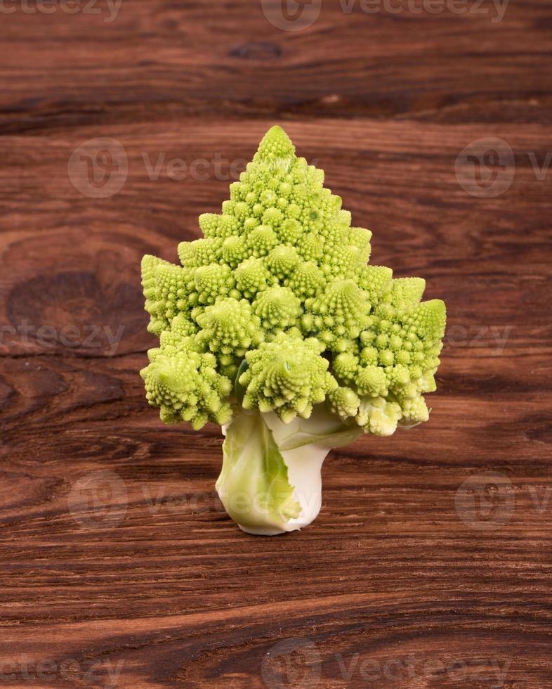 Cabbage romanesco photo