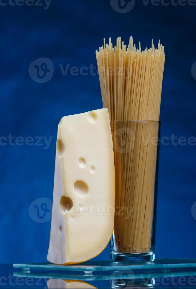 cheese and spaghetti photo