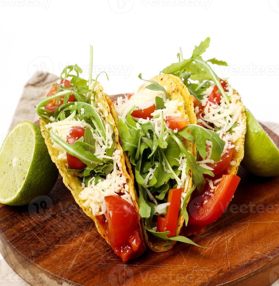 Delicious taco photo