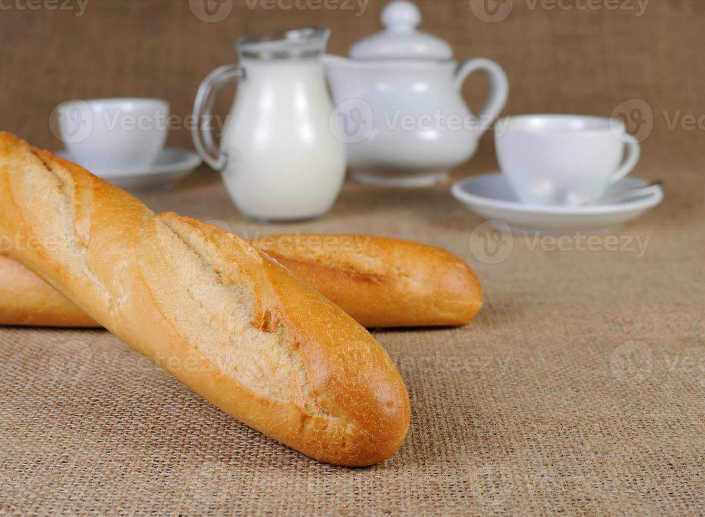 wheat baguette photo