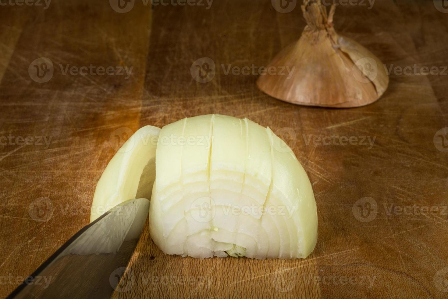 cebolla amarilla foto