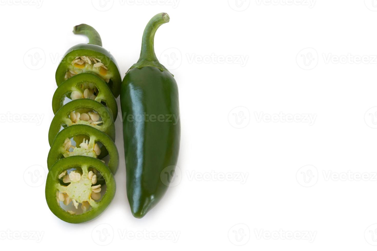 jalapenos Chili Peppers or Mexican chili peppers photo