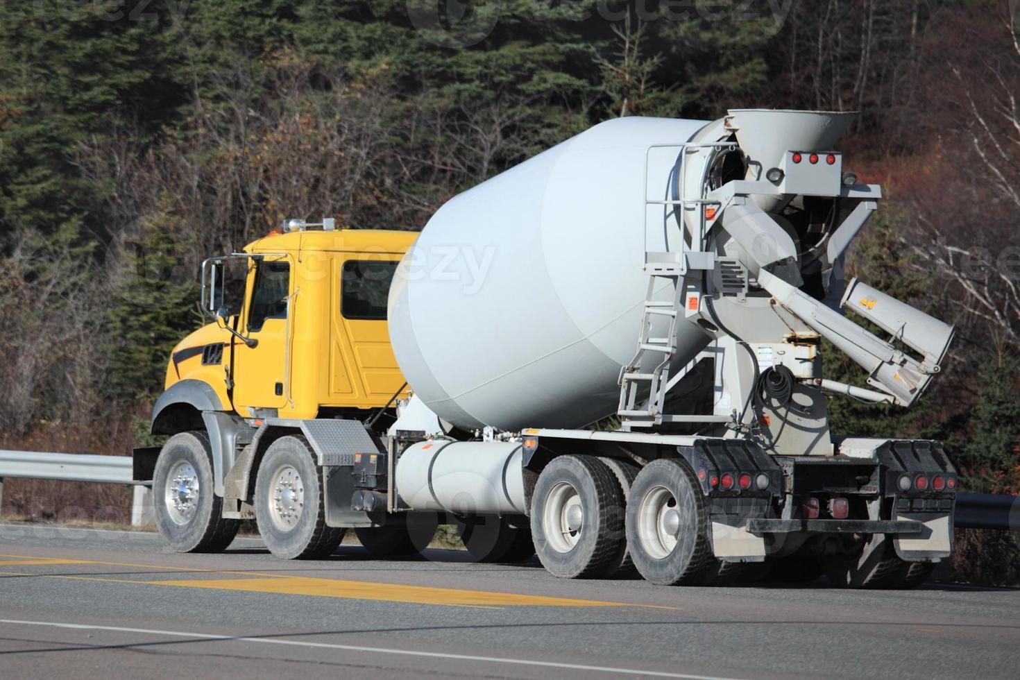 Cement truck photo