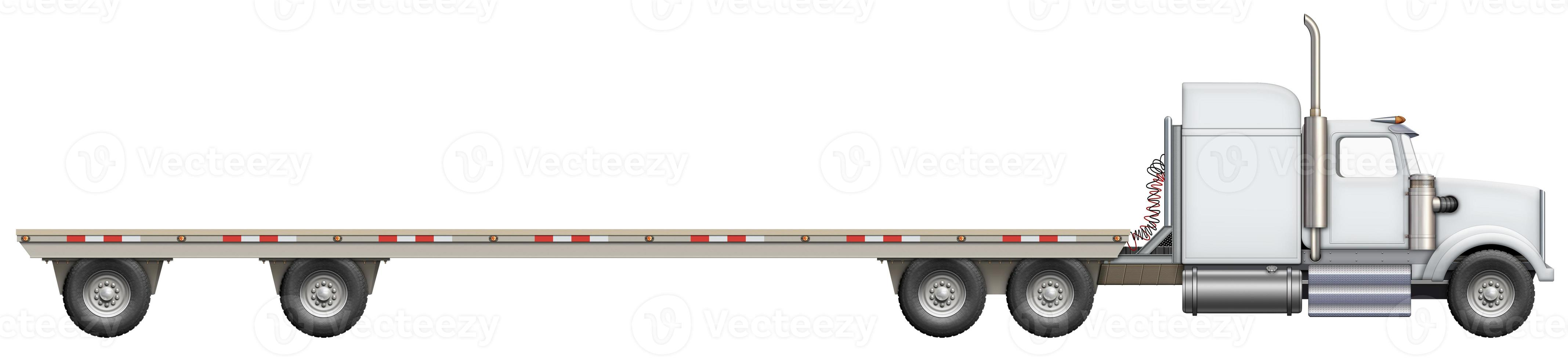 Flatbed Truck photo
