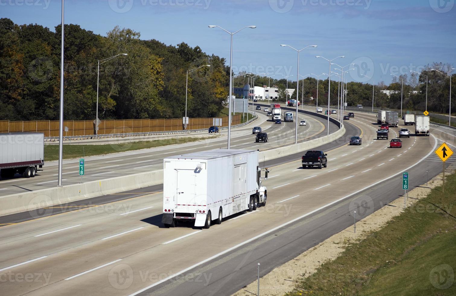 tráfico en carretera foto