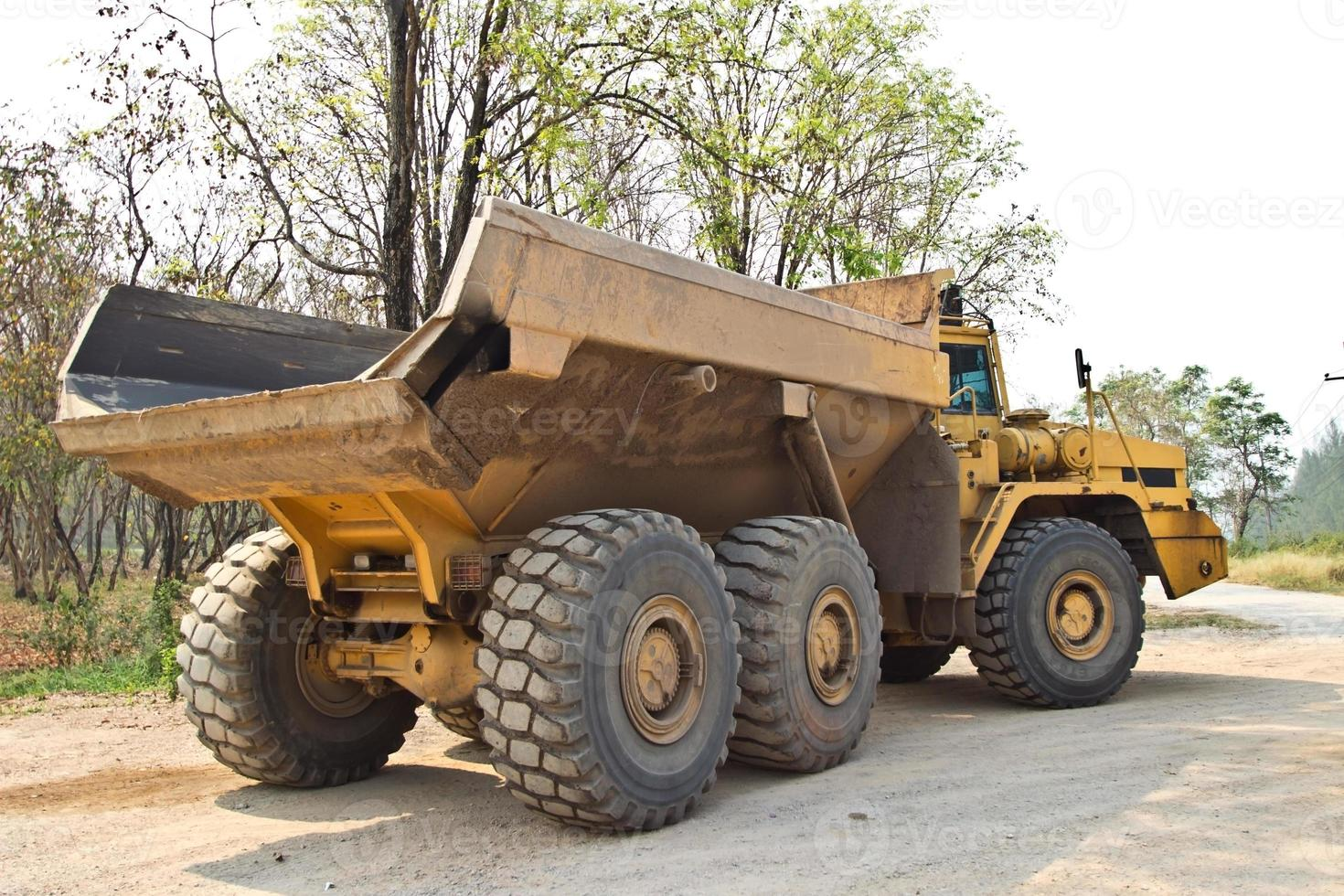 camión de la basura foto