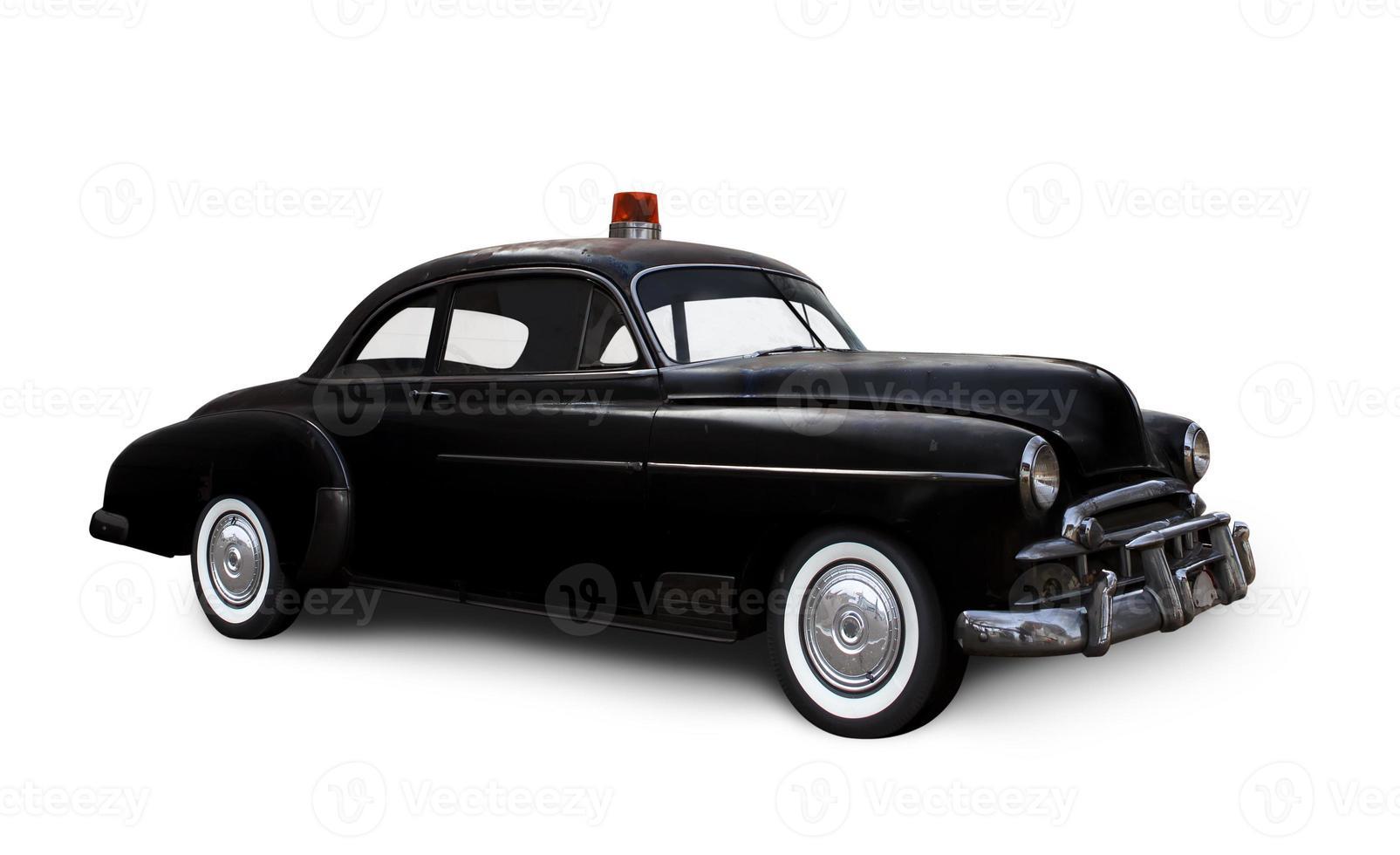 coche de policía. foto
