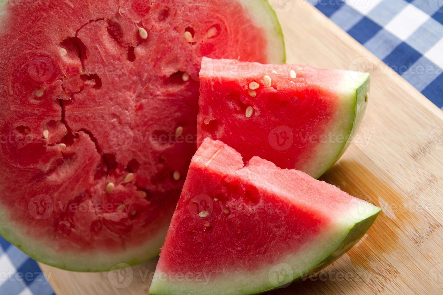 Fresh watermelon photo
