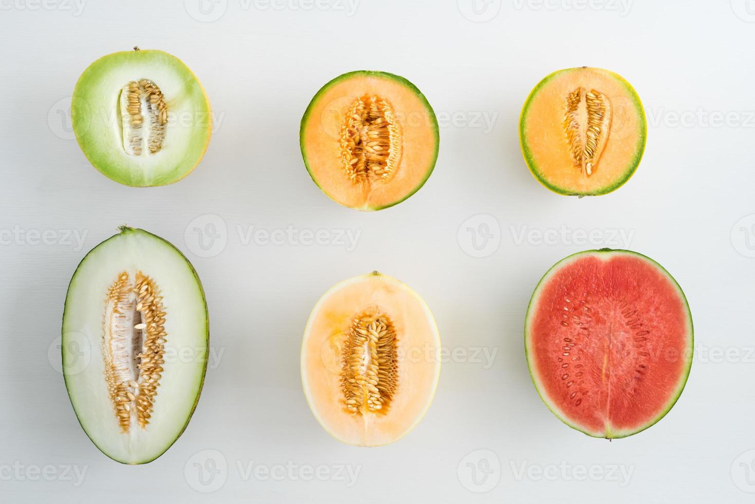 Collection of melons photo
