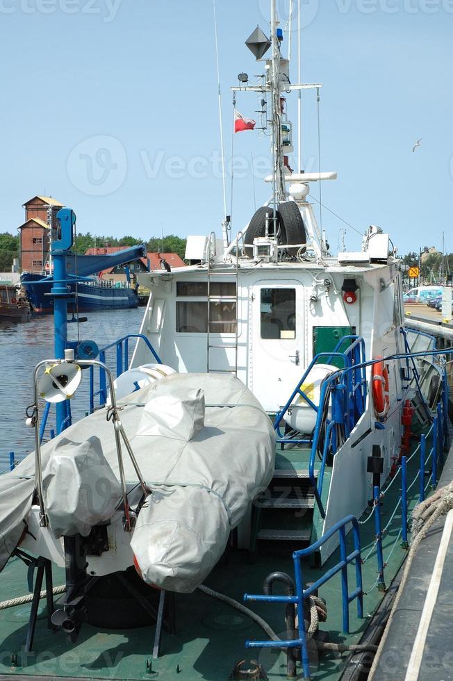 cubierta para buque pesquero foto