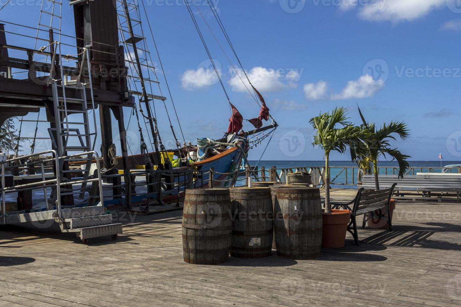 Commercial pirate ship photo