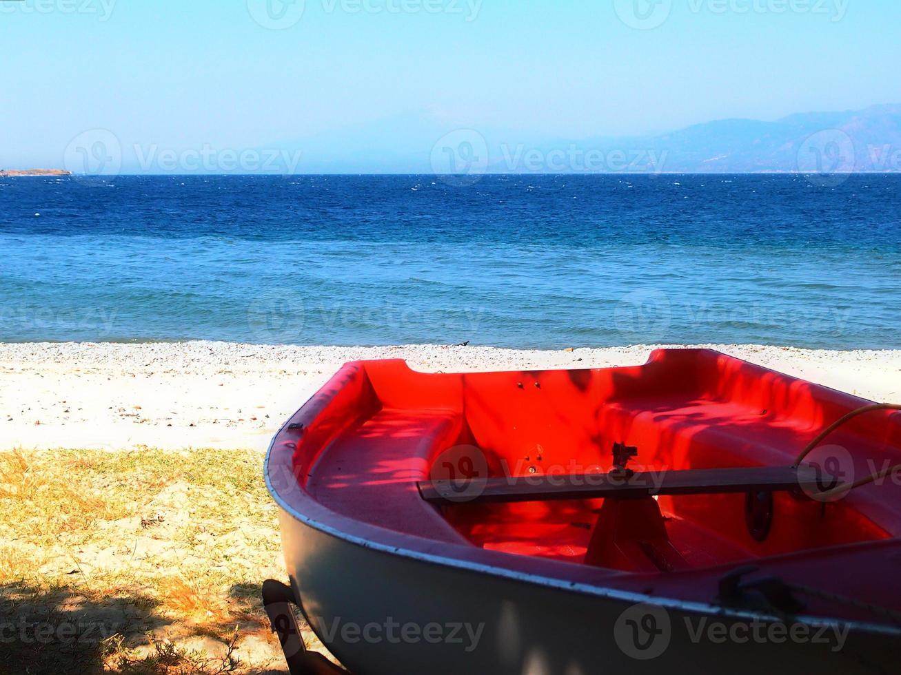 barca en secca foto