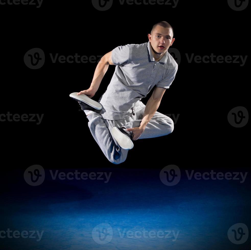 entrenamiento breakdancer foto