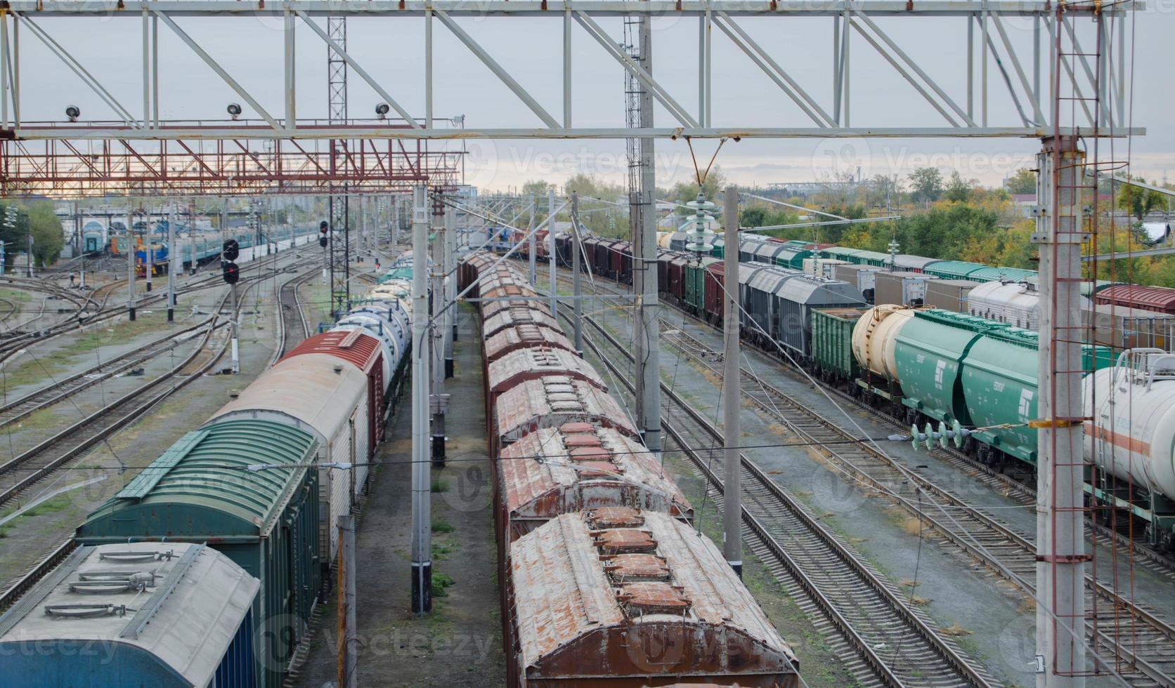 Railroad station photo