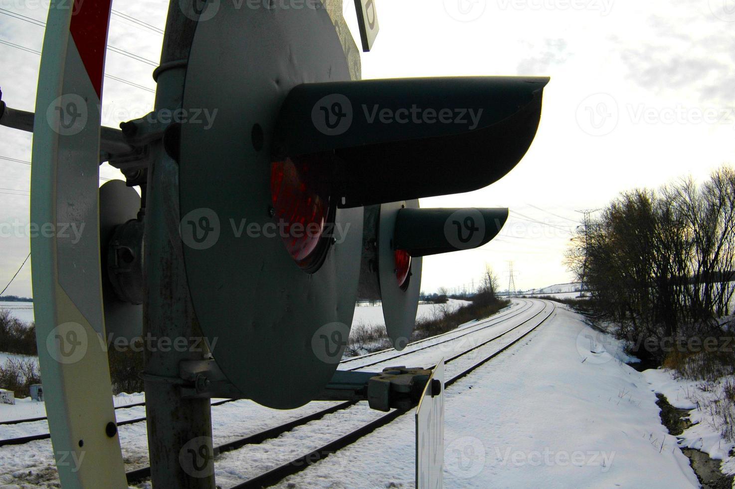 Cruce de Ferrocarril foto