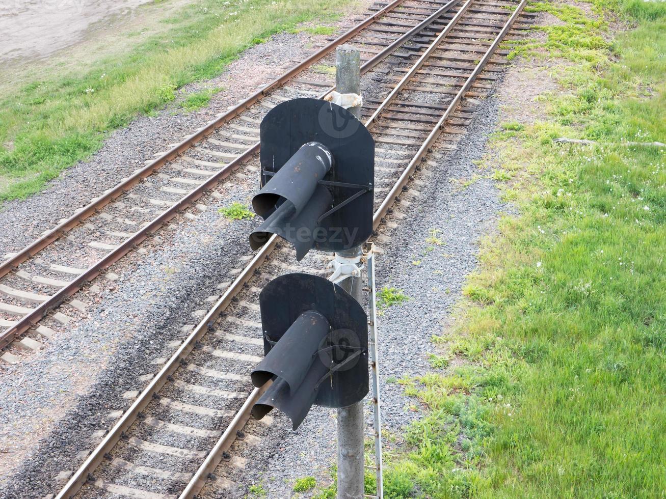fondo del ferrocarril foto