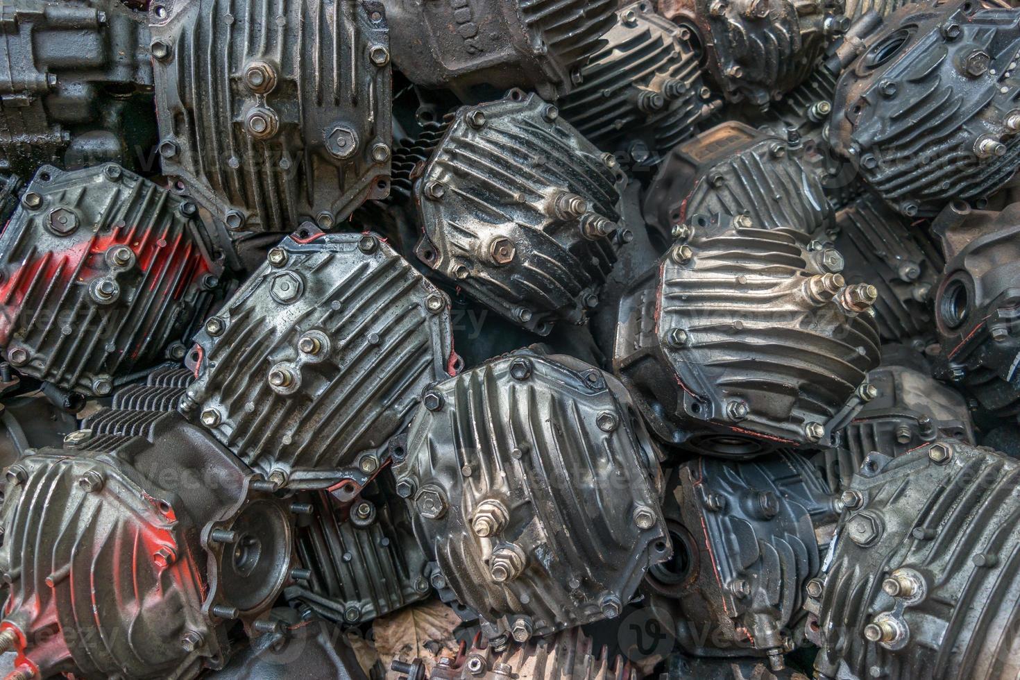motores de motocicletas foto