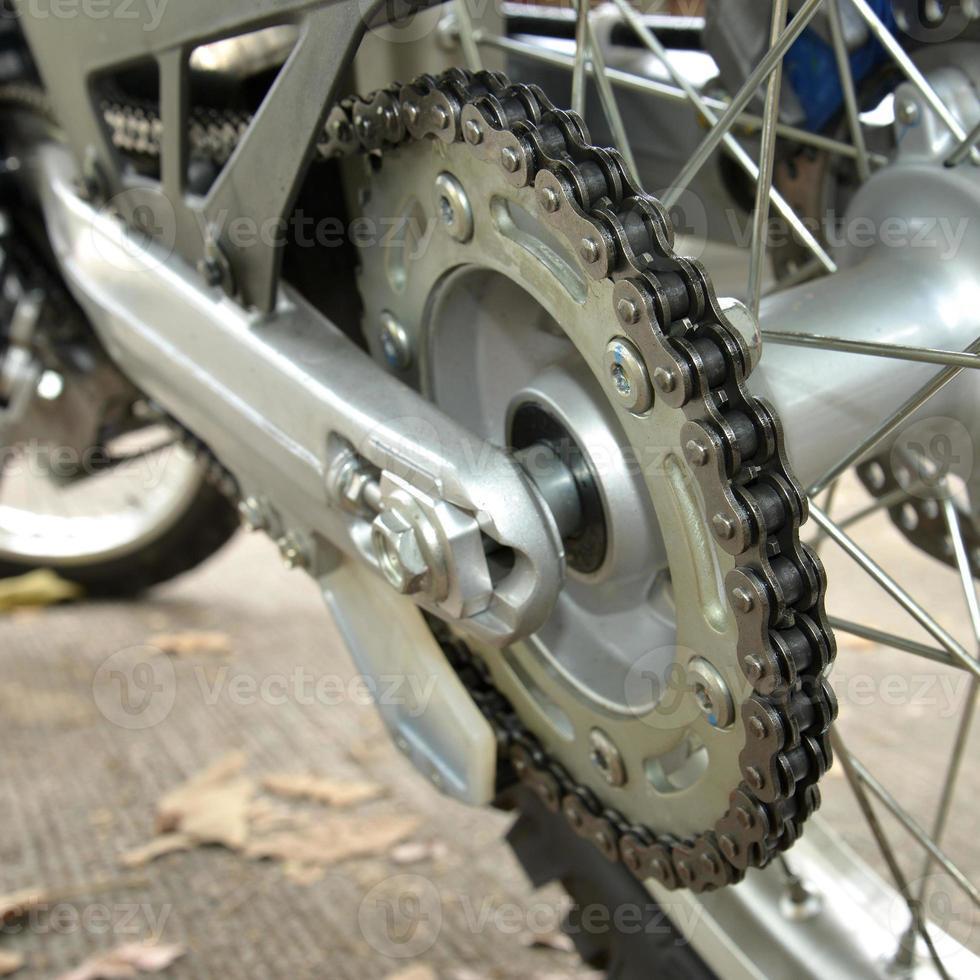 cadena de motocicleta foto