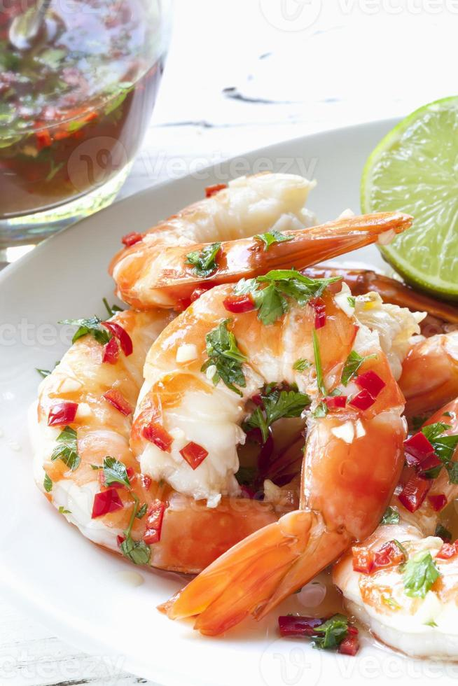 Shrimp with Chili and Lime photo