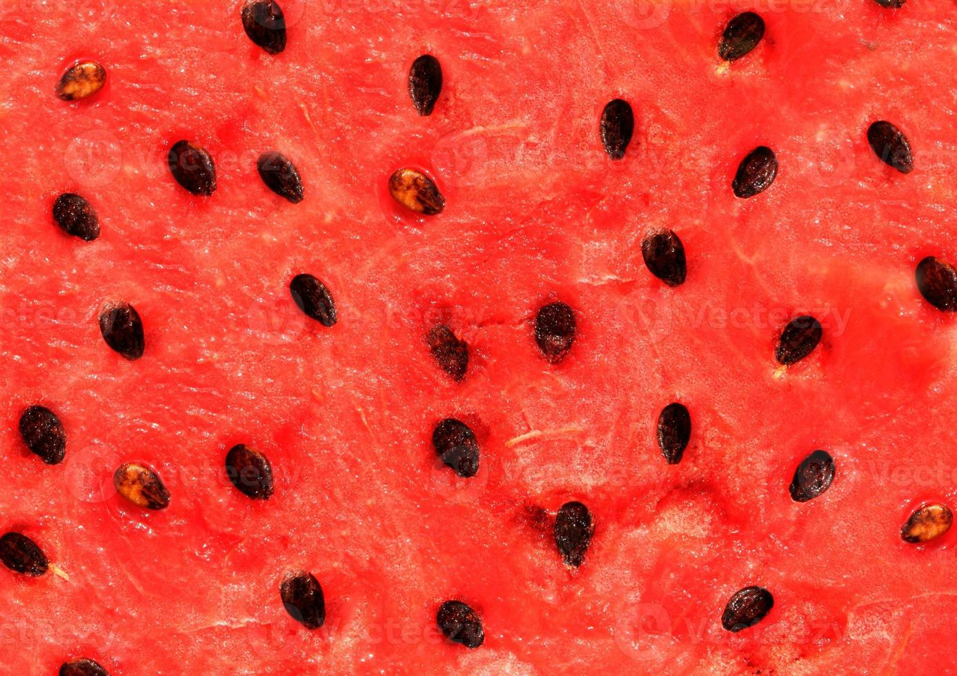 Red texture of watermelon photo