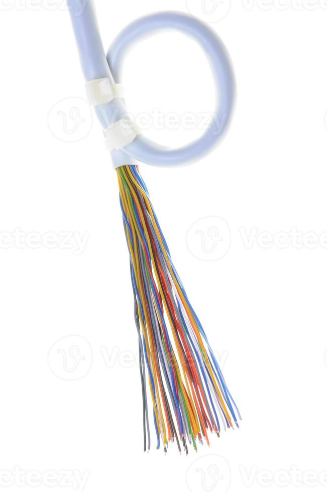 Telecommunication cable photo
