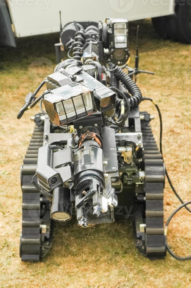 robot de eliminación de bombas foto