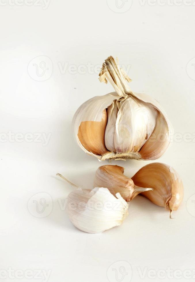 Garlic cloves photo