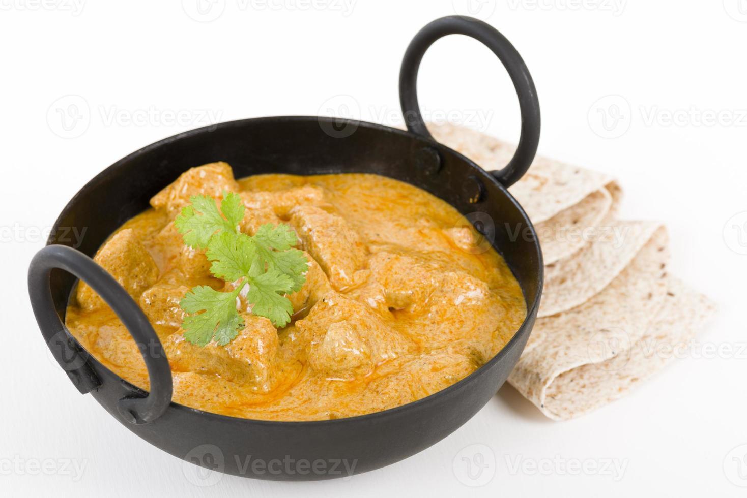 Curry de pollo foto