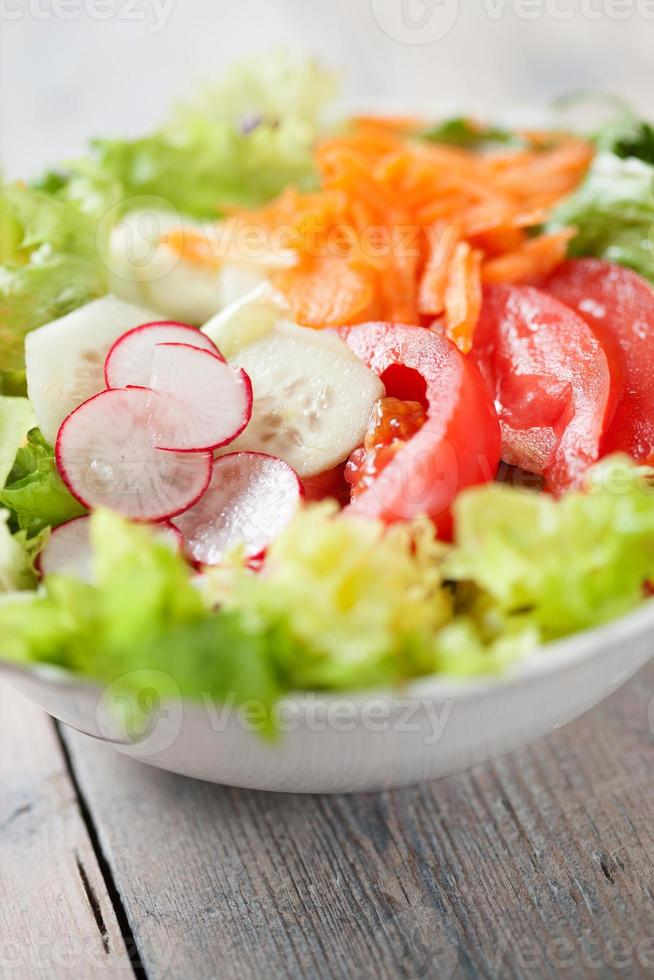Fresca insalata mista photo