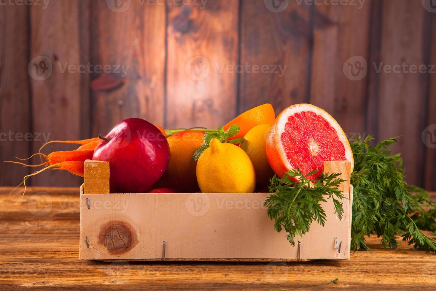 Fresh vegetable photo