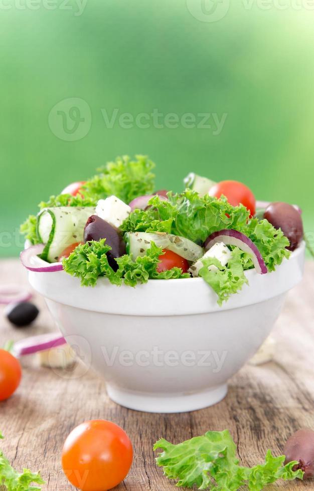 ensalada fresca. foto